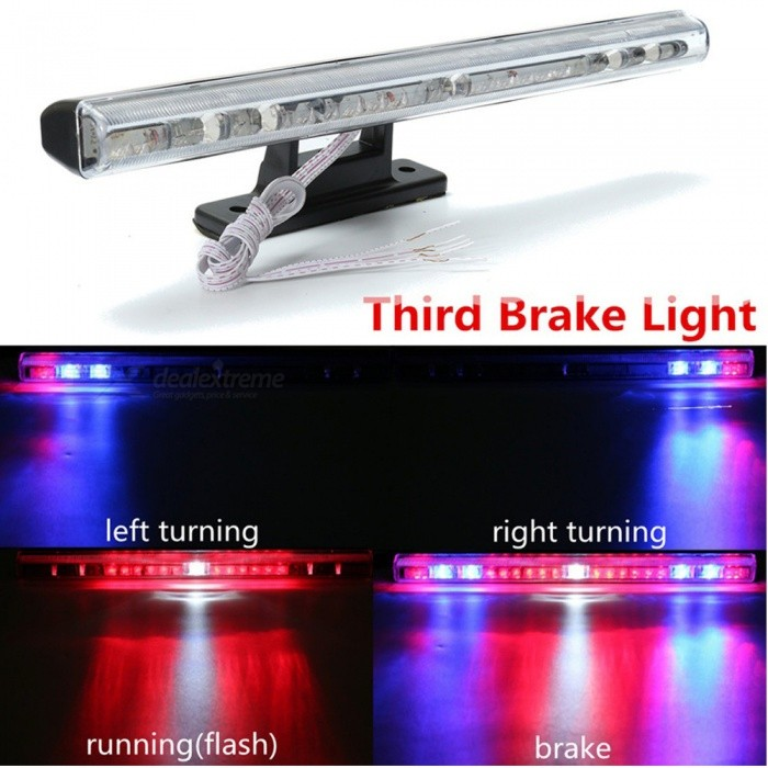 OJADE 21-LED Car Auto Third Brake Stop Running Flashing Turn Signal Lamp, High Mount Rear Tail Warning LightDecorative Lights / Strip<br>Color BINRedModel55014Quantity1 DX.PCM.Model.AttributeModel.UnitMaterialABSForm  ColorBrass + WhiteEmitter TypeLEDChip BrandOthersTotal EmittersOthers,21Rate VoltageN/APower3WActual LumensN/A DX.PCM.Model.AttributeModel.UnitWater-proofYesApplicationOthers,StoplightPacking List1 x Light<br>