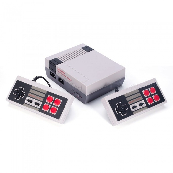 Classic NES Game Machine Mini TV Handheld Game Console - HD Version (US Plug)Other Consoles Accessories<br>Form  ColorWhite + Grey (US Plug)Quantity1 pieceMaterialABSForm  ColorWhite + Grey (US Plug)Packing List1 x Game console2 x Wired Joysticks1 x US plug power adapter1 x HDMI video HD link1 x Game Menu1 x English Instructions<br>