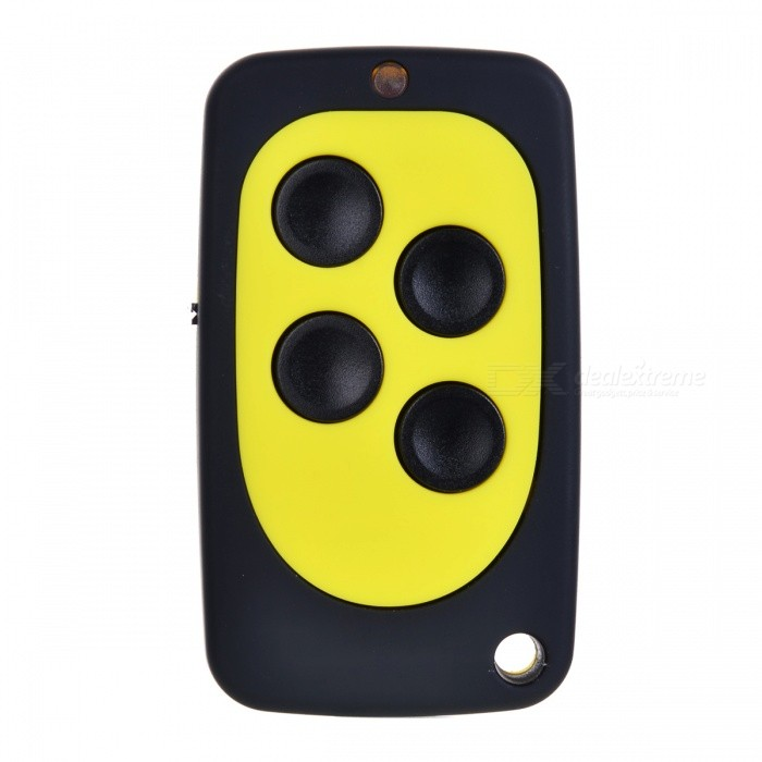 A027-330MHz Auto Pair Copy Remote Copy Fixed Code Garage Door Remote Control, Rolling Gate Remote ControlReplacement Keys or Remotes<br>Form  ColorBlack + Fluorescent YellowModelA027-330MHZQuantity1 setMaterialABS + Electronic componentsCompatible MakeOthers,UniversalCompatible Car ModelUniversalCompatible YearOthers,UniversalKey Head Length0 cmControl Range50 mTransmit Frequency315 MHzPacking List1 x Remote key1 x English user manual<br>