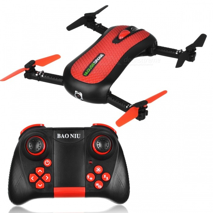 HC652W Portable High Definition 4-Axis 4CH 2.4G Wireless Folding RC Quadcopter with 0.3MP Camera - RedR/C Airplanes&amp;Quadcopters<br>Form  ColorRed + BlackModelHC652WMaterialElectronic components, plastic raw materialsQuantity1 pieceShade Of ColorRedGyroscopeYesChannels Quanlity4 channelFunctionUp,Down,Left,Right,Forward,Backward,Stop,Hovering,Sideward flightRemote TypeRadio ControlRemote control frequency2.4GHzRemote Control Range80 mSuitable Age 8-11 years,12-15 years,Grown upsCameraYesCamera Pixel0.3MPLamp YesBattery TypeLi-polymer batteryBattery Capacity480 mAhCharging Time30 minutesWorking Time8 minutesRemote Controller Battery TypeAAARemote Controller Battery Number3 (not included)Remote Control TypeOthers,2.4GModelMode 2 (Left Throttle Hand)Packing List1 x Folding aircraft1 x Remote control1 x USB charging line (line length 63CM)1 x Accessories package2 x Instructions in Chinese and English<br>