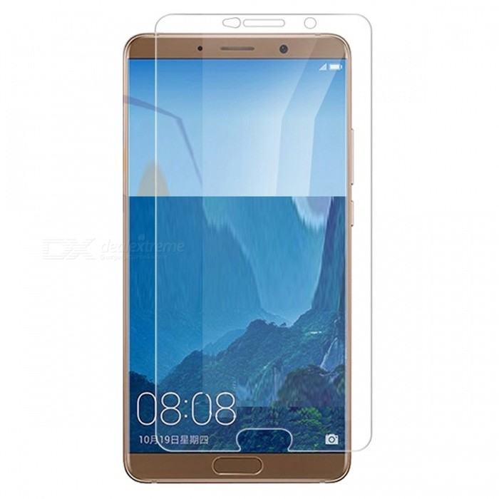 Naxtop Tempered Glass Screen Protector for Huawei Mate 10 - TransparentScreen Protectors<br>Form  ColorTransparent (1PC)Screen TypeGlossyModelN/AMaterialTempered GlassQuantity1 pieceCompatible ModelsHuawei Mate 10Features2.5D,Fingerprint-proof,Scratch-proof,Tempered glassPacking List1 x Tempered glass film1 x Wet wipe1 x Dry wipe1 x Dust absorber<br>