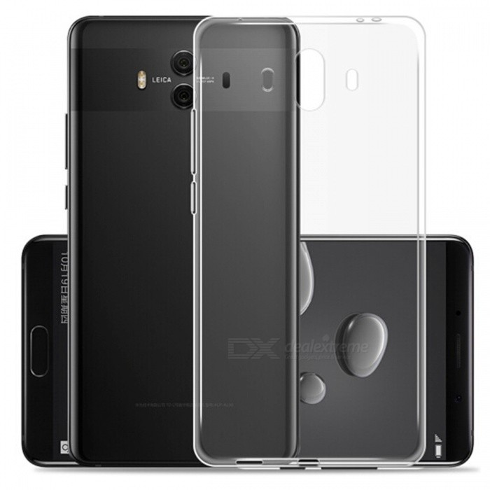 Naxtop Protective TPU Ultra-thin Soft Case for Huawei Mate 10 - TransparentTPU Cases<br>Form  ColorTransparentModelN/AMaterialTPUQuantity1 pieceShade Of ColorTransparentCompatible ModelsHuawei Mate 10Packing List1 x Case<br>