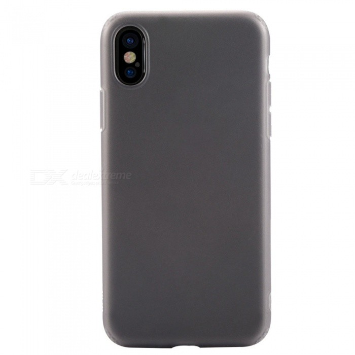 Benks Pudding Protective Frosted TPU Case for IPHONE X - BlackTPU Cases<br>Form  ColorBlack + TransparentModelPuddingQuantity1 pieceMaterialTPUCompatible ModelsiPhone XDesignMatteStyleBack CasesCertificationRoHSPacking List1 x Protective Case<br>