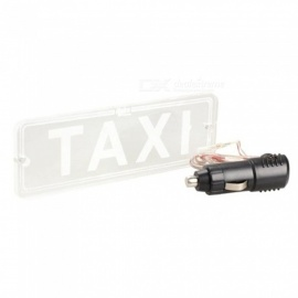 OJADE Universal Taxi Car Windscreen Windshield Cab LED Indicator Lamp - Red Light