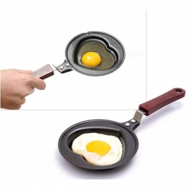 P-TOP Unharmful Cute Shaped Egg Mould Pan, Lovely Mini Breakfast Egg Frying Pan for Kids