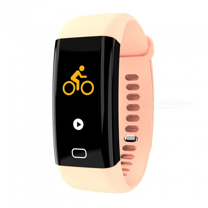 F07 Bluetooth Smart Bracelet with Heart Rate, Blood Pressure, Blood Oxygen, Sleep Monitoring, Message Reminding - PinkSmart Bracelets<br>Form  ColorPinkModelF07Quantity1 piecesMaterialTPUShade Of ColorPinkWater-proofIP68Bluetooth VersionBluetooth V4.0Touch Screen TypeOthers,OLEDOperating SystemAndroid 4.4,iOSCompatible OSAndroid IOSBattery Capacity110 mAhBattery TypeLi-polymer batteryStandby Time15 dayPacking List1 x Smart Bracelet1 x User Manual1 x Box<br>