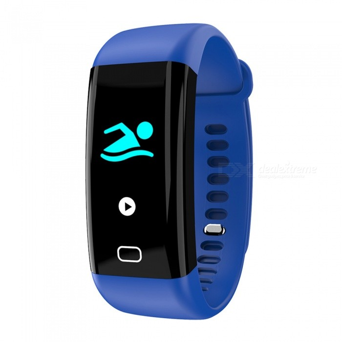 F07 Bluetooth Smart Bracelet with Heart Rate, Blood Pressure, Blood Oxygen, Sleep Monitoring, Message Reminding - BlueSmart Bracelets<br>Form  ColorBlueModelF07Quantity1 DX.PCM.Model.AttributeModel.UnitMaterialTPUShade Of ColorBlueWater-proofIP68Bluetooth VersionBluetooth V4.0Touch Screen TypeOthers,OLEDOperating SystemAndroid 4.4,iOSCompatible OSAndroid IOSBattery Capacity110 DX.PCM.Model.AttributeModel.UnitBattery TypeLi-polymer batteryStandby Time15 DX.PCM.Model.AttributeModel.UnitPacking List1 x Smart Bracelet1 x User Manual1 x Box<br>