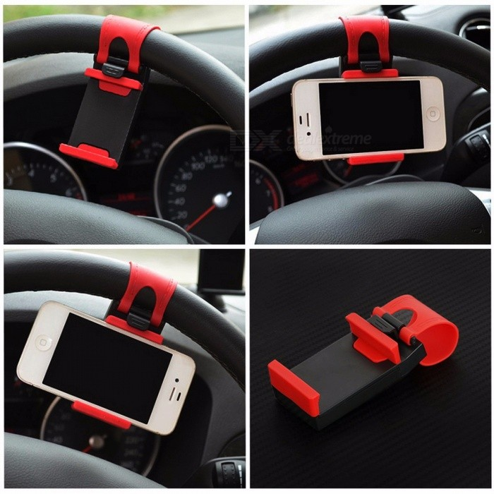 universel voiture auto volant clip support de montage pour iphone 8 7 7 plus 6 6 samsung xiaomi. Black Bedroom Furniture Sets. Home Design Ideas