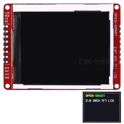 OPEN-SMART 2.0 Inch 176 * 220 Serial SPI TFT LCD Shield Breakout Module for Arduino Nano Pro Mini UNO R3 Mega2560