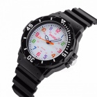 Buy SKMEI 1043 Fashion Casual Children's Jelly Watch, 50m Waterproof Quartz Wristwatch Clock Kids Boys Girls Students Black
