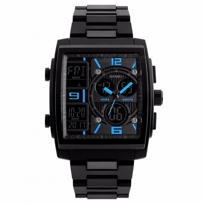 Men's Watches Back To Search Resultswatches Fashion Men Watches Dress Led Digital Women Sports Watch El Back Chrono Wristwatch Waterproof Reloj Hombre 2018 Skmei And To Have A Long Life.