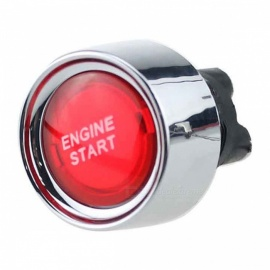 IZTOSS B2633 Mini 12V 50A Car Modification Button Switch with One-Key Start Function - Red