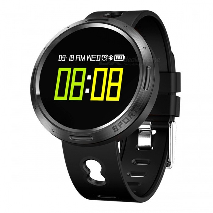 X9-VO Color Touch Screen Smart Bracelet with Pedometer Heart Rate Blood Pressure Blood Oxygen Sleep Monitoring - BlackSmart Bracelets<br>Form  ColorBlackModelX9-VOQuantity1 DX.PCM.Model.AttributeModel.UnitMaterialTPUShade Of ColorBlackWater-proofIP68Bluetooth VersionBluetooth V4.0Touch Screen TypeOthers,OLEDOperating SystemAndroid 4.4,iOSCompatible OSAndroid  IOSBattery Capacity105 DX.PCM.Model.AttributeModel.UnitBattery TypeLi-polymer batteryStandby Time15 DX.PCM.Model.AttributeModel.UnitPacking List1 x Smart Bracelet1 x Data Cable1 x User Manual1 x Packing Box<br>
