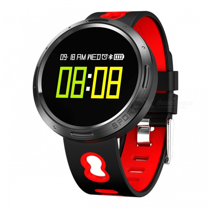 X9-VO Color Touch Screen Smart Bracelet with Pedometer Heart Rate Blood Pressure Blood Oxygen Sleep Monitoring - RedSmart Bracelets<br>Form  ColorRedModelX9-VOQuantity1 piecesMaterialTPUShade Of ColorRedWater-proofIP68Bluetooth VersionBluetooth V4.0Touch Screen TypeOthers,OLEDOperating SystemAndroid 4.4,iOSCompatible OSAndroid  IOSBattery Capacity105 mAhBattery TypeLi-polymer batteryStandby Time15 dayPacking List1 x Smart Bracelet1 x Data Cable1 x User Manual1 x Packing Box<br>
