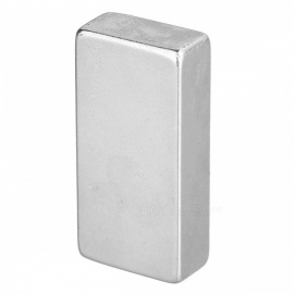 40 * 20 * 10mm rectangulaire fort ndfeb aimant - argent