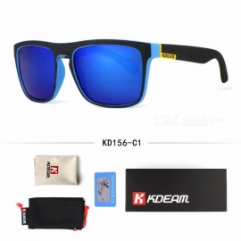 Men's Fashion Sun Glasses Polarized Stylish Outdoor Sports High Quality Classic Design Cool Sunglasses Blue