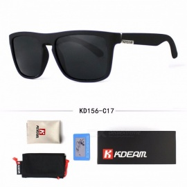 Men's Fashion Sun Glasses Polarized Stylish Outdoor Sports High Quality Classic Design Cool Sunglasses Black