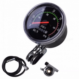 Cycling Bicycle Computer Speedometer Mountain MTB Bike 26 27.5 29 Inches Odometer Bike Mechanical Stopwatch 26 inch