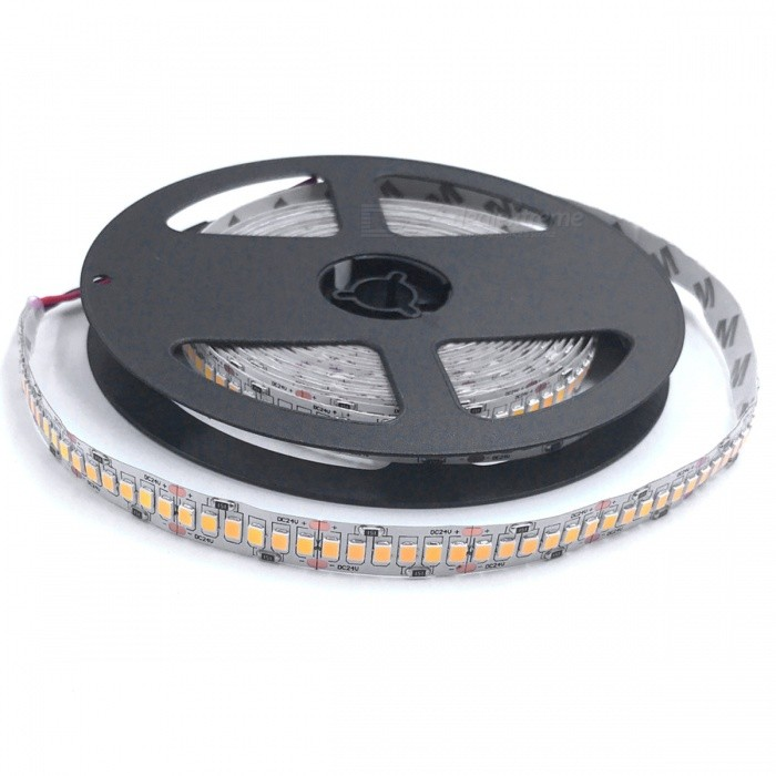 ZHAOYAO Non-Waterproof 5m 100W DC 24V 2835SMD-1200LEDs LED Strip Light - Warm WhiteOther SMD Strips<br>Form  ColorBlack + Grey (DC 24V) Color BINWarm WhiteModel2835SMD-1200L-DC 24V-WWMaterialCircuit boardQuantity1 setPowerOthers,100WRated VoltageDC 24 VEmitter TypeOthers,2835SMDTotal Emitters1200Color Temperature2800-3500KWavelength0Actual Lumens15-10000 lumensPower AdapterOthers,WiringPacking List1 x LED strip<br>