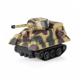 Magic Mini Tank Inductive Tank Toy Follow Black Drawn Line