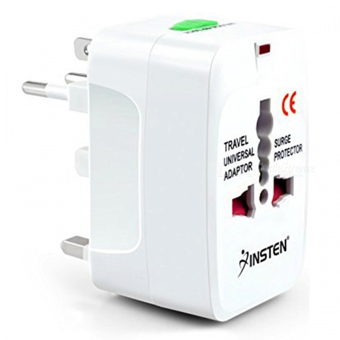 ZHAOYAO Universal International Travel Socket, USB Power Charger Adapter Converter EU UK US AUPower Adapters<br>Form  ColorWhite + Red + Multi-ColoredQuantity1 pieceShade Of ColorWhiteMaterialPlasticTypeOthers,-Compatible BrandOthers,-Compatible Model-Power AdapterUS Plug,EU Plug,UK Plug,AU PlugTip DiameterOthers,-Input Frequency- fpsInput Voltage- VOutput Current- AOutput Voltage- VPacking List1 x Universal World conversion plug<br>
