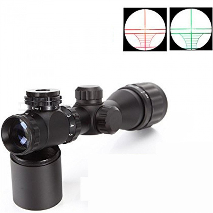 OJADE 2-6*32AOE 2-6X Magnification Gun Aim Sight for M16, M4A1, AK47 - BlackGun Scopes &amp; Sights<br>Form  ColorBlackMaterialAluminum alloyQuantity1 setGun TypeSuitable for M16, M4A1, AK47 etc micro submachine gun shootingMagnification2~6XLaser Wavelength400mLaser ColorRed,GreenOther FeaturesWith red green light to adjust the intensity, to increase the visual sense of target.Packing List1 x Gun aim sight<br>