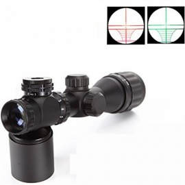 OJADE 2-6*32AOE 2-6X Magnification Gun Aim Sight for M16, M4A1, AK47 - Black