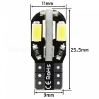 Sencart 10X T10 194 168 W5W 8-LED SMD5630 Super Bright Wedge Headlight, Car LED Interior Light (10 PCS)