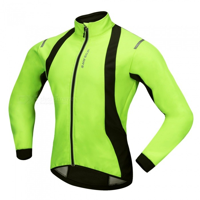 ... WOSAWE BC232 Windproof Polyester Fleece Classic Long Sleeves Bike  Cycling Top Jacket for Autumn   Fall ... eb87dcf95