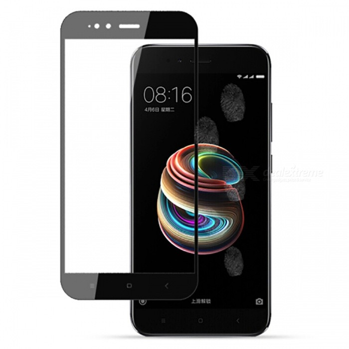 Naxtop Tempered Glass Full Screen Protector for Xiaomi Mi A1 - BlackScreen Protectors<br>Form  ColorBlackScreen TypeGlossyModelN/AMaterialTempered GlassQuantity1 pieceCompatible ModelsXiaomi Mi A1Features2.5D,Fingerprint-proof,Scratch-proof,Tempered glassPacking List1 x Tempered glass film1 x Wet wipe1 x Dry wipe1 x Dust absorber<br>