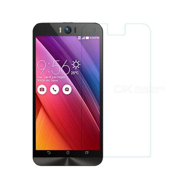 Naxtop Tempered Glass Screen Protector for Asus ZenFone Selfie ZD551KL - Transparent