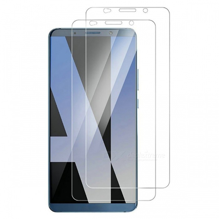 Naxtop Tempered Glass Screen Protector for Huawei Mate 10 Pro - TransparentScreen Protectors<br>Form  ColorTransparent (2PCS)Screen TypeGlossyModelN/AMaterialTempered GlassQuantity1 pieceCompatible ModelsHuawei Mate 10 ProFeatures2.5D,Fingerprint-proof,Scratch-proof,Tempered glassPacking List2 x Tempered glass film2 x Wet wipe2 x Dry wipe2 x Dust absorber<br>