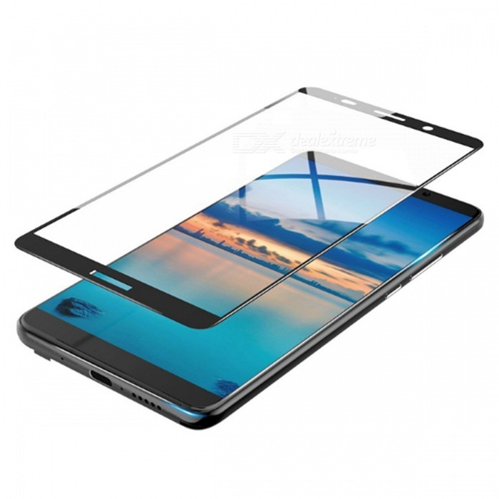 Naxtop Full Screen Protector Tempered Glass for Huawei Mate 10 Pro - BlackScreen Protectors<br>Form  ColorBlackScreen TypeGlossyModelN/AMaterialTempered GlassQuantity1 pieceCompatible ModelsHuawei Mate 10 ProFeatures2.5D,Fingerprint-proof,Scratch-proof,Tempered glassPacking List1 x Tempered glass film1 x Wet wipe1 x Dry wipe1 x Dust absorber<br>
