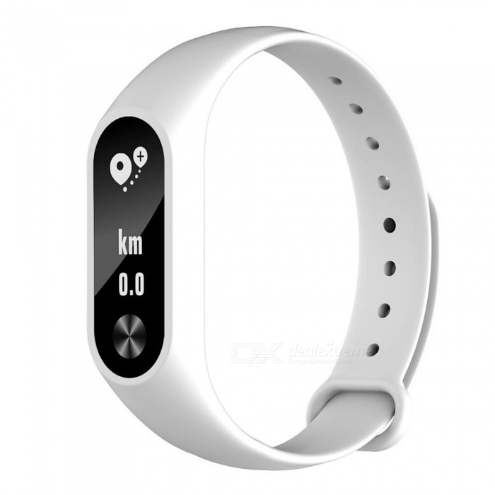 M2S Sports Smart Bracelet with Heart Rate Sleep Monitoring Call Reminder Pedometer for Android iOS - WhiteSmart Bracelets<br>Form  ColorWhiteModelM2SQuantity1 piecesMaterialTPUShade Of ColorWhiteWater-proofIP67Bluetooth VersionBluetooth V4.0Touch Screen TypeOthers,OLEDOperating SystemAndroid 4.4,iOSCompatible OSAndroid IOSBattery Capacity60 mAhBattery TypeLi-polymer batteryStandby Time30 dayPacking List1 x Smart Bracelet1 x Charging Cable1 x User Manual<br>