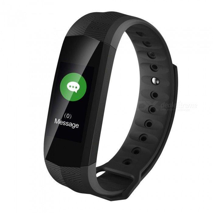 CD02 0.96 Color Screen Bluetooth Bracelet with PPG Heart Rate Monitor, Pedometer, Sleep Monitor - BlackSmart Bracelets<br>Form  ColorBlackModelCD02Quantity1 setMaterialABSShade Of ColorBlackWater-proofIP67Bluetooth VersionBluetooth V4.0Touch Screen TypeYesCompatible OSAndroid Phone support Android 4.4 or above Phone<br>IOS Phone support IOS 8.2 or higher from PhoneBattery Capacity105 mAhBattery TypeLi-polymer batteryStandby Time5-7 daysPacking List1 x CD02 Smart Belt1 x User Manual1 x Charging Cable<br>