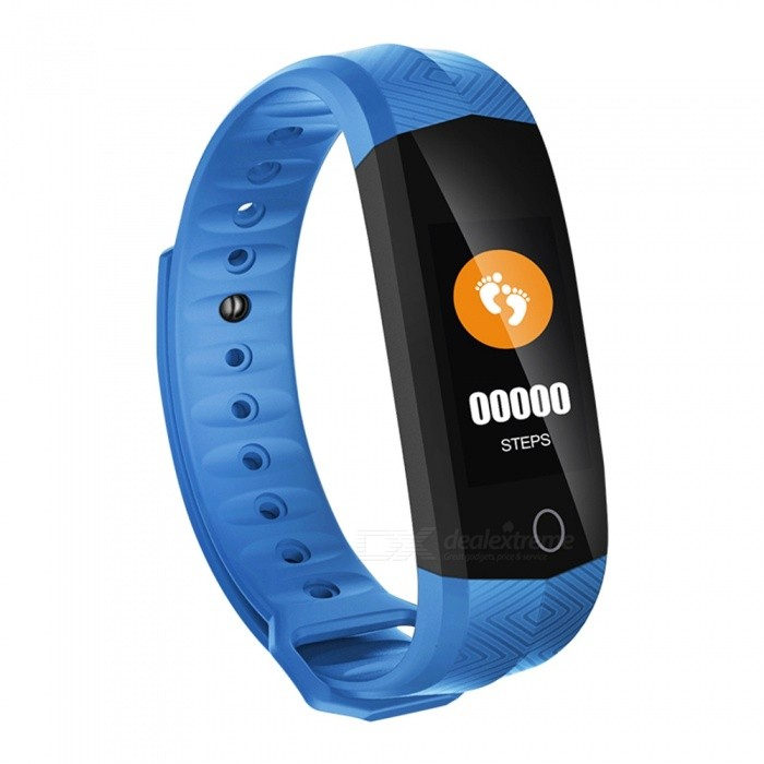CD02 0.96 Color Screen Bluetooth Bracelet with PPG Heart Rate Monitor, Pedometer, Sleep Monitor - BlueSmart Bracelets<br>Form  ColorBlueModelCD02Quantity1 setMaterialABSShade Of ColorBlueWater-proofIP67Bluetooth VersionBluetooth V4.0Touch Screen TypeYesCompatible OSAndroid Phone support Android 4.4 or above Phone<br>IOS Phone support IOS 8.2 or higher from PhoneBattery Capacity105 mAhBattery TypeLi-polymer batteryStandby Time5-7 daysPacking List1 x CD02 Smart Belt1 x User Manual1 x Charging Cable<br>