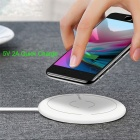 UGREEN CD171 10W Qi Wireless Charger for iPhone 8 / X Samsung Galaxy S7 / S8 / S6 Edge Plus and More - White
