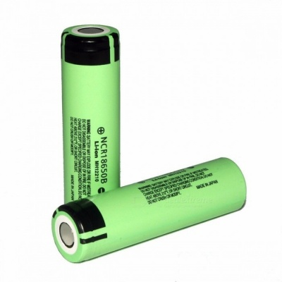100% New Premium Original NCR18650B 3.7V 3400mAh 18650 Lithium Rechargeable Battery for Panasonic Flashlight 2PCS battery