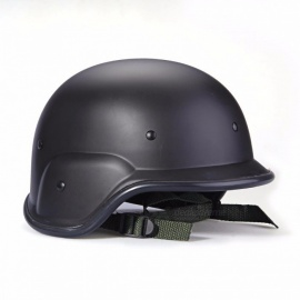 TOMOUNT Airsoft Tactical Helmet, Army Military Force Hunting Helmet, Shooting Paintball Head Protector for Men black
