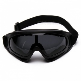 P-TOP Windbreak Sand Fans Tactical Ski Glasses Goggles for Motorcycle ATV Dirt Bike - Gray