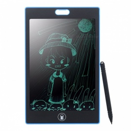 "Portable 8.5"" LCD Writing Board Tablet, Electronic Paperless LCD Handwriting Pad with Pen for Kids Children Black"