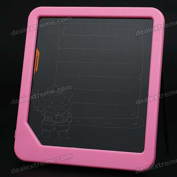Novelty Blue Fluorescent Light Messaging Board - Pink (3*AA)