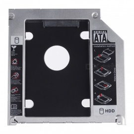 Portable 9.5mm Integrated Tray, CD-ROM Hard Disk Bracket Caddy for Apple MacBook Pro