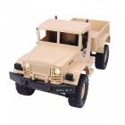 WPLB-14 2.4Ghz 4-CH 1:16 4WD Full Function Remote Control Military Truck RC Car
