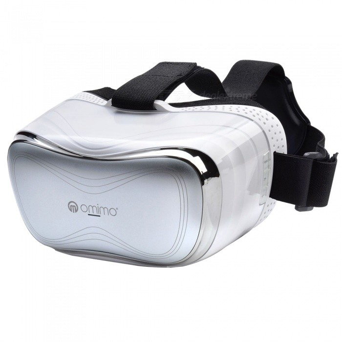 Omimo All-in-One Virtual Reality Headset�� 3D VR Glasses for Playing Games�� Watching Movies - White