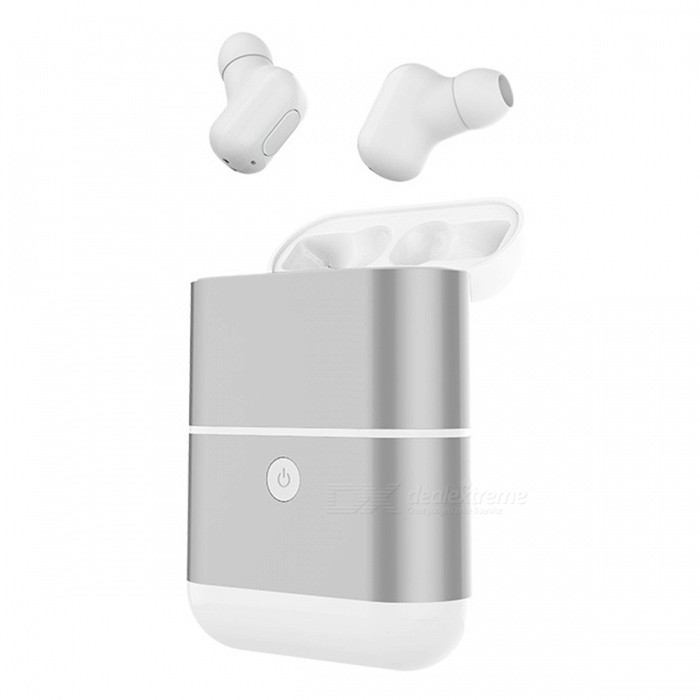 ZHAOYAO X2-TWS Mini Invisual Style Bluetooth Wireless Headset Earbuds with Charging Box - White (1 Pair)Other Bluetooth Devices<br>Form  ColorWhiteModelX2-TWSMaterialOtherQuantity1 setShade Of ColorWhiteBluetooth VersionOthers,4.2Operating Range10mStandby Time720 hoursApplicable ProductsIPHONE 5,IPHONE 4,IPHONE 4S,IPHONE 3G,IPHONE 3GS,IPOD,IPAD,MP3,IPHONE 5S,IPHONE 5CBattery TypeOthers,-Power AdapterUSBPacking List1 x Pairs of headphones1 x Storage box1 x Battery compartment<br>