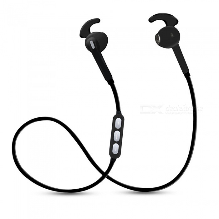 X10 Earphone Bluetooth V4.1 EDR Headset Wireless Sports Headphone Earbuds with Microphone - BlackHeadphones<br>Form  ColorBlackBrandOthers,EastorModelX10MaterialABSQuantity1 pieceConnectionBluetoothBluetooth VersionBluetooth V4.1Bluetooth ChipCSROperating Range10MConnects Two Phones SimultaneouslyNoCable Length60 cmLeft &amp; Right Cables TypeEqual LengthHeadphone StyleEarbudWaterproof LevelIPX0 (Not Protected)Applicable ProductsUniversalHeadphone FeaturesEnglish Voice Prompts,Long Time Standby,Noise-Canceling,Volume Control,With Microphone,Lightweight,PortableRadio TunerNoSupport Memory CardNoSupport Apt-XYesBattery TypeLi-polymer batteryBuilt-in Battery Capacity 80 mAhStandby Time100 hourTalk Time5 hourMusic Play Time6 hourPower AdapterUSBPower Supply5VPacking List1 x Bluetooth earphones1 x USB Cable 2 x Plastic ear tips<br>