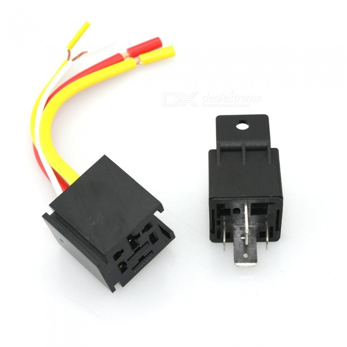 Iztoss S2787-z 40a-12v 6-group Ignition Switch Panel With Relay   Socket For Racing Car