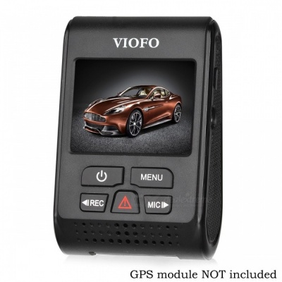 VIOFO A119S V2 Capacitor Novatek HD 1080p Car Dash Cam Camera DVR - Black