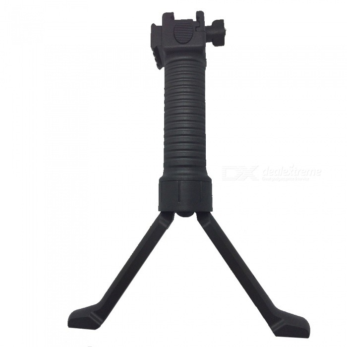 OJADE Universal Retractable Tactical Hunting Rifle Spring Installed Pop-up Rail Bipod - BlackBipods &amp; Monopods<br>Form  ColorBlackMaterialABSQuantity1 setGun TypeM4 / M16Mount TypeOthersTypeBipodExtendable LegsYesPacking List1 x Bipod<br>